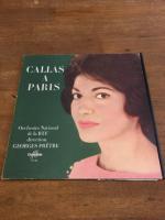 Disque 33T Callas a Paris